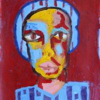 Osa Elaiho   Ama Ibi   Acrylic on canvas   16 x 12