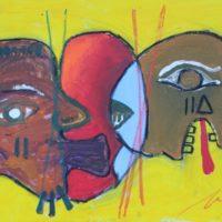 Osa Elaiho   Transformation   Mixed media on canvas   18 x 24