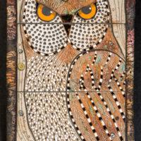 Joanne Bohannon   Encroachment   Ceramic, found objects   12 x 26