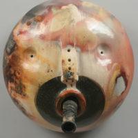 Joanne Bohannon   Keeping Secrets   Ceramic, found objects   14 x 14